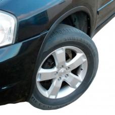 Накладки на арки колёс